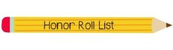 Honor Roll Recipient List